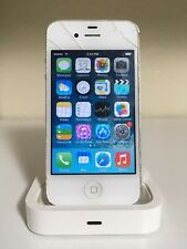 Apple iPhone 4s Bundle - 16GB - White (Cricket) A1387 (CDMA + GSM)