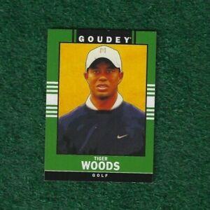 TIGER WOODS - 2014 GOODWIN CHAMPIONS - GOUDEY - INSERT - CARD # 33 - PGA TOUR