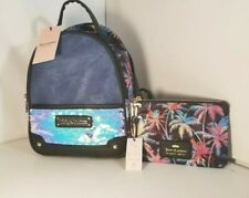 Juicy Couture Charm School Backpack Palm Springs /Blue Charms USA & pouch