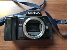 Minolta 7000 AF 35mm  Film Camera Body only tested working Good Condition.