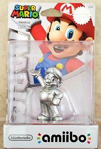 Amiibo Super Mario Silver Edition Wii U Switch Nintendo Special Edition