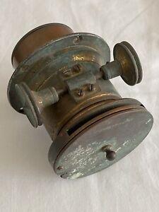 Antique Brass Archer & Sons Liverpool Zoom Magic Lantern Lens