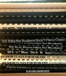 Sheet Music - Buskers Books - Piano / Organ with Guitar Chords