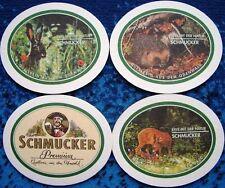 Bierdeckel Serie Schmucker - Odenwald - Tiere - Oval Mossautal Obermossau Hessen