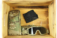 New in Package US Army Genuine Issue Revision Desert Locust Goggles Multicam OCP