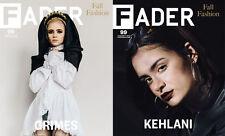 FADER Magazine Issue 99 USA August September 2015 Grimes & Kehlani NEW