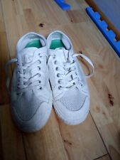 Tretorn White Mesh Canvas Pamps Trainers Size 6/ 39