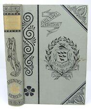 1880s Scarlet Letter by Nathaniel Hawthorne Arundel Edition
