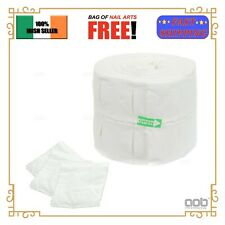 Lint Free Nail Wipes 12Ply Polish Acrylic UV Gel Remover Cotton Pads Cleaner EU