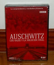 AUSCHWITZ, LE NAZIS Y LA SOLUTION FIN-PACK 4 DVD-NOUVEAU-SCELLÉS-NOUVEAU SCELLÉ