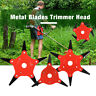 6Steel Blade Razor 65Mn Lawn Mower Grass Eater Trimmer Head Brush Cutter New
