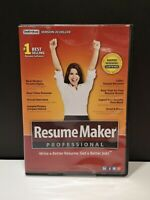 Resume Maker Professional - Version 20 Deluxe New for PC