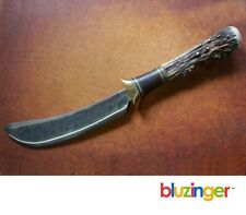 J's ( J.R. Turner ) ~ Handcrafted ~ Handmade Scagel Style Big Skinner Knife