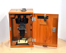 Vintage Bausch & Lomb Stereo Zoom Microscope with wood Case