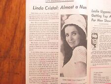 1969 Democrat & Chron. TV Tab(LINDA CRISTAL/GENE BARRY/GINA LOLLOBRIDGIDA/DON HO