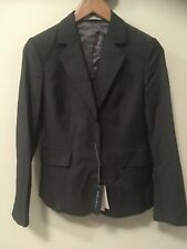 Women's Rhodes & Beckett Grey Wool Jacket - Size 8 - BRAND NEW WITH TAGS