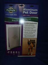 PetSafe Freedom Aluminum Pet Door White Large Ppa00-10861 Brand new