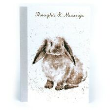 A6 Rosie Rabbit 48 Page Notebook – Wrendale Designs Thoughts and Musings Book