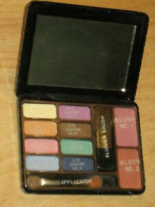 New Jean Michelle cosmetics makeup eyeshadow set VTG palette blush Maquillage