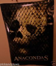 "Anacondas 26 3/4  x 39 1/2""  Marquee Double Sided Movie Poster Large Reverse"