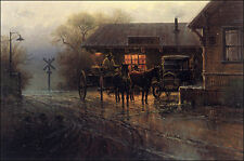"**""KATY DEPOT""**LIMITED EDITION PRINT BY G. HARVEY**SIGNED & NUMBERED**"