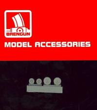 Brengun Models 1/144 BOEING F-18 SUPER HORNET WHEELS Resin Set