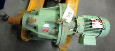 Fimet Gear Motor, R15E, 237:1 Ratio, 0.65 Kw, 440-480 Y / 220-240 Delta Volts,