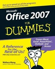 Office 2007 For Dummies (For Dummies (Computer/Tech))-ExLibrary