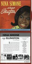 CD Nina Simone Sings Ellington | Mini LP REPLICA CARD SLEEVE | 11-TRACK