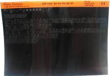 Honda CRF150F 2003 - 2007 Parts List Microfiche h207
