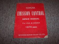 1976 Toyota Land Cruiser FJ40 FJ55 Emission Control Shop Service Repair Manual