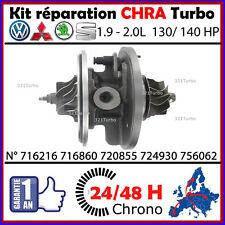CHRA TURBO Cartouche VW VOLKSWAGEN 2.0 TDI 140 cv GARRETT GT1749V 724930 /935
