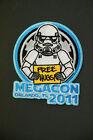 Star Wars 501st Legion MegaCon Orlando 2011 Free Hugs Trooper Patch Members Only