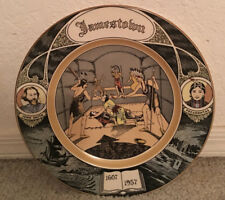"Vintage Dec.2 1955 ""Plate"" John Smith/Pocahontas James Town Unused"