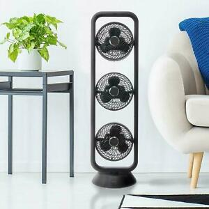 Igenix DF0050BL Oscillating Tower Air Circulator Fan - Black, 2 YEAR WARRANTY!!!