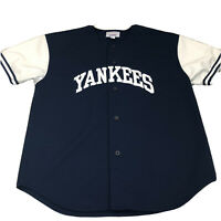 Vintage MLB Starter New York Yankees Jersey Size Men's XL Genuine Merchandise
