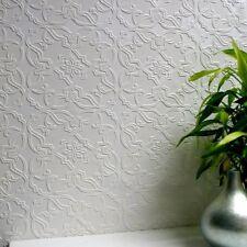 Wallpaper Luxury Textured Embossed Paintable Vinyl Easy Apply Maxwell Anaglypta
