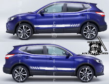 Graphic Decal Sticker Racing Stripes Kit for Nissan Qashqai X-Trail Rogue