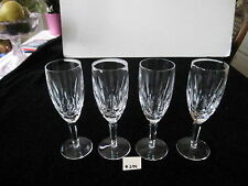 "WATERFORD VINTAGE ""KILDARE"",FLUTED CHAMPAGNE,7 1/4H"", PRICE IS PER EACH,XLT COND"