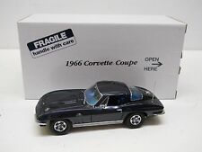 Danbury Mint 1:24 Diecast - 1966 Chevrolet Corvette Coupe - Laguna Blue MIB