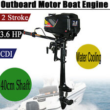Motori Fuoribordo BENZINA 3.6HP 2Tempi Gommone Outboard Motore Barche Engine CDI