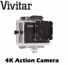 Vivitar DVR914  4K 16.1MP Action Cam Wide Angle Cam - Brand New