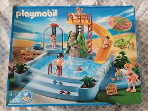 Playmobil Swimming Pool Water Park 4858 Spare Parts replacements