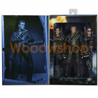 "NECA T-800 Ultimate Deluxe Arnold Terminator 2 Judgment Day 7"" Action Figure New"