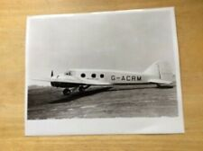 /IMPERIAL AIRWAYS PHOTOGRAPH -G-ACRM  AVRO AVATAR
