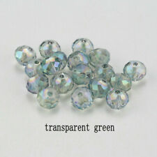 Gray Ab Spacer Bead For Bracelet Jewelry Diy 100Pc 4Mm Round Crystal Glass Beads