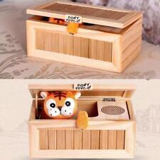 Mini Electronic Useless Box Funny Tiger Tricky Toys Surprise Joke Prank UK