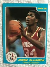 1986 Star Best of the New/Old Hakeem Olajuwon #3