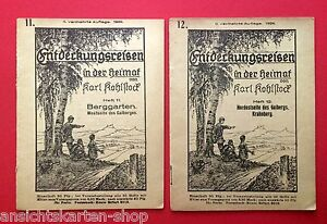 2 x Heft Nr. 11 und Nr. 12 Entdeckungsreisen von Karl Kohlstock    ( F12268