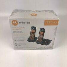 Motorola Dect 6.0 Digital Cordless Phone With Answering Machine